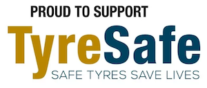 proud supporters of tyresafe